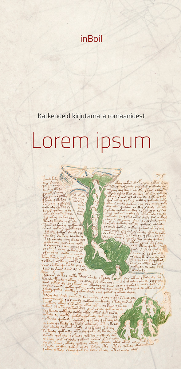 Lorem ipsum – Katkendeid kirjutamata romaanidest